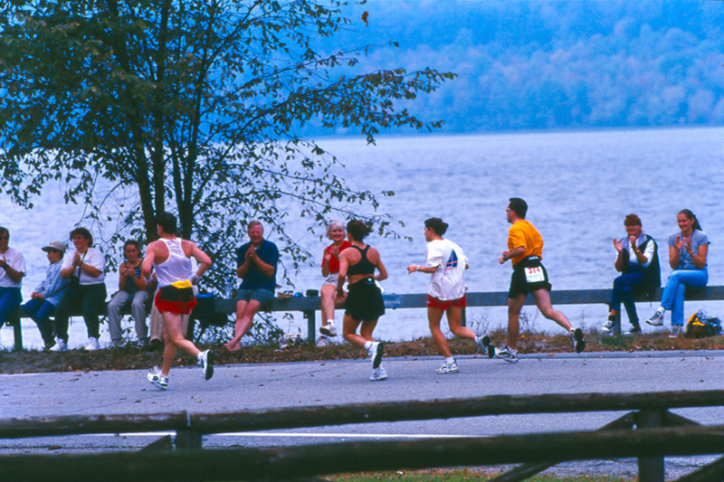 84073-nancie-battaglia-running-spectators-along-lake